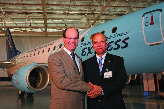 埃及快捷航空公司接收其第一架e170喷气飞机