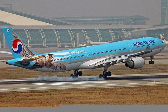 大韩和韩亚航空公司机队机龄在全球占有优势-飞机