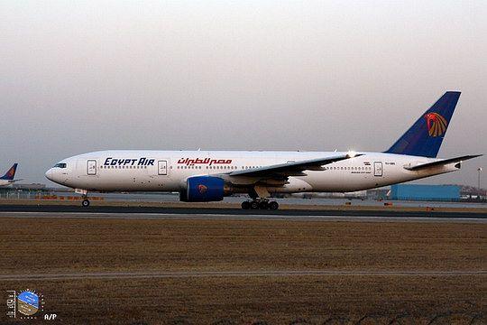 埃及航空将开通开罗——广州等三条国际航线-飞机模型